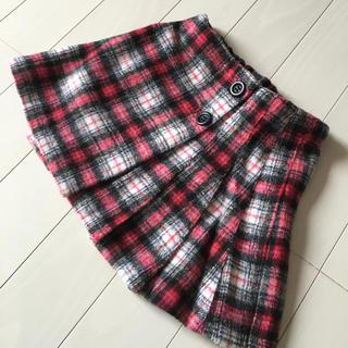 ブリーズ(BREEZE)のBREEZE☆未使用美品☆スカート☆チェック☆サイズ90(スカート)