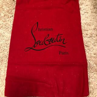 クリスチャンルブタン(Christian Louboutin)のルブタンのパンプス保存袋(ショップ袋)