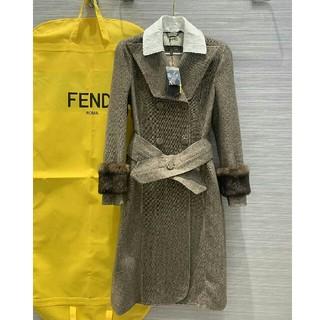 フェンディ(FENDI)のFENDI フェンディロングコート レディース 正規品 (ロングコート)