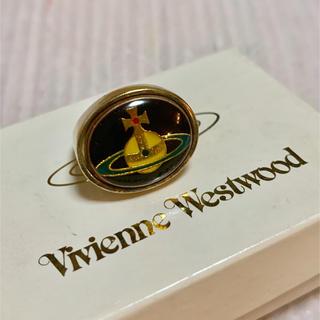 ヴィヴィアンウエストウッド(Vivienne Westwood)の本日限定価格!レア エナメルオーブ リング ゴールド S(リング(指輪))