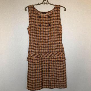 イーストボーイ(EASTBOY)の秋色 ジャンパースカート(ひざ丈ワンピース)