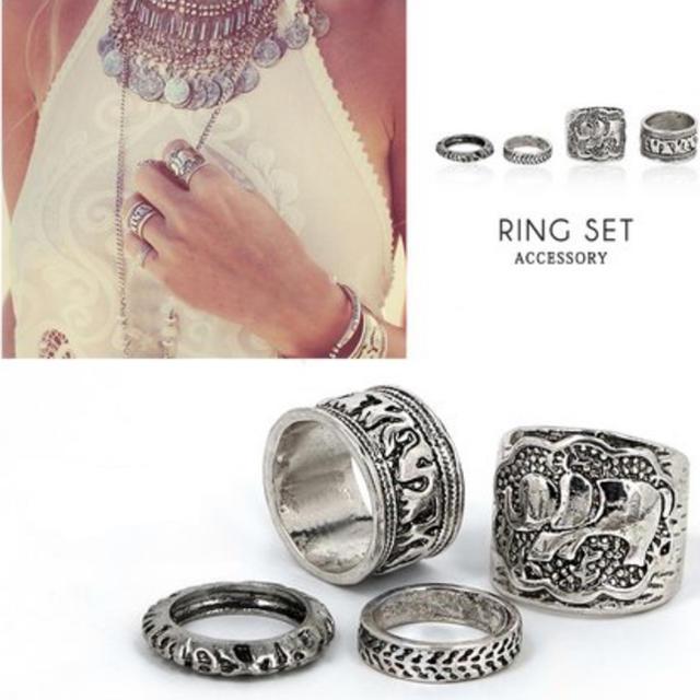 dholic(ディーホリック)のリング zara SLY moussy EMODA カスタネ BEAMS  レディースのアクセサリー(リング(指輪))の商品写真
