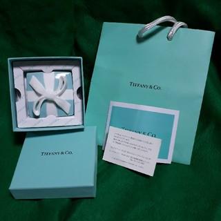 ティファニー(Tiffany & Co.)のティファニー ボウボックス(小物入れ)