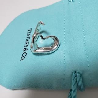 ティファニー(Tiffany & Co.)のティファニーオープンハートリング 15号 巾着袋付き(リング(指輪))