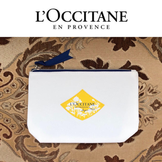 ロクシタン(L'OCCITANE)の未使用 ロクシタン レーヌブランシュ スプリングトラベルポーチ 白(ポーチ)
