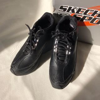 スケッチャーズ(SKECHERS)のSKECHERS SPORT ヒール スニーカー 23 ブラック(スニーカー)