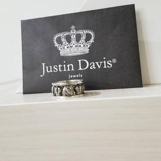 ジャスティンデイビス(Justin Davis)のジャスティンデイビス マイラブリング 12号  燻し(リング(指輪))