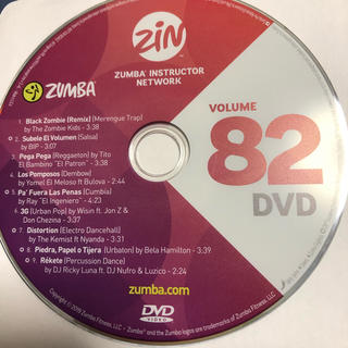 Zumba - ズンバ ZIN82  DVD