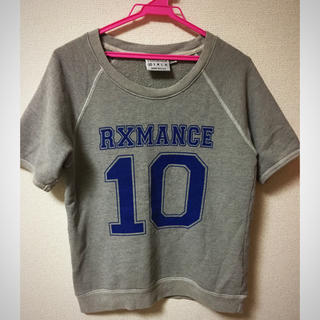 ジャーナルスタンダード(JOURNAL STANDARD)のrxmance♡半袖スウェット(トレーナー/スウェット)