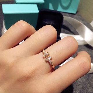 ティファニー(Tiffany & Co.)のファニー(正規品) T字リング(リング(指輪))