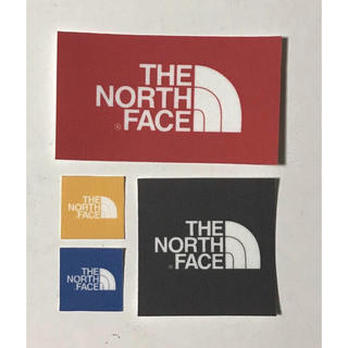 THE NORTH FACE - THE NORTH FACE ワッペン 長方形1枚 大1枚 小2枚