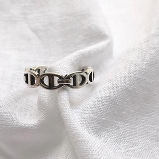 トゥモローランド(TOMORROWLAND)のh シルバー 925 リング(リング(指輪))
