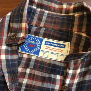 アパルトモンドゥーズィエムクラス(L'Appartement DEUXIEME CLASSE)のL'Appartement ワイヤー入りチェックシャツ(シャツ/ブラウス(長袖/七分))