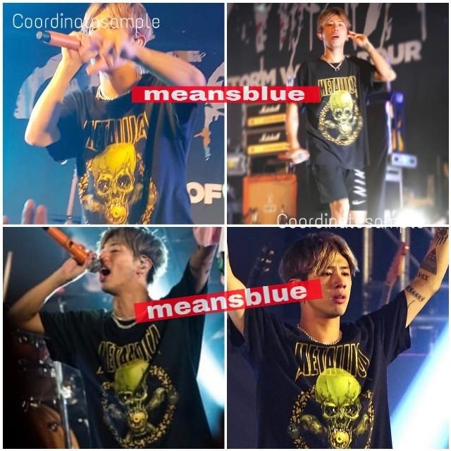 ONE OK ROCK(ワンオクロック)のXXL長袖 METALLICA  NOLEAFCLOVER Tシャツ メンズのトップス(Tシャツ/カットソー(七分/長袖))の商品写真