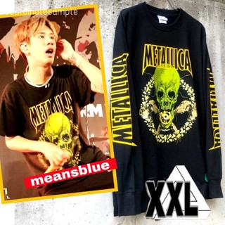 ワンオクロック(ONE OK ROCK)のXXL長袖 METALLICA  NOLEAFCLOVER Tシャツ(Tシャツ/カットソー(七分/長袖))