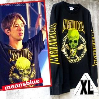 ワンオクロック(ONE OK ROCK)のXL◇長袖 METALLICA  NOLEAFCLOVER Tシャツ(Tシャツ/カットソー(七分/長袖))