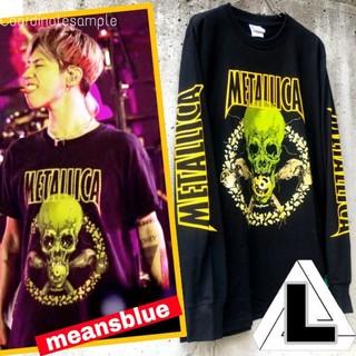 ワンオクロック(ONE OK ROCK)のL◇長袖 METALLICA  NOLEAFCLOVER Tシャツ(Tシャツ/カットソー(七分/長袖))