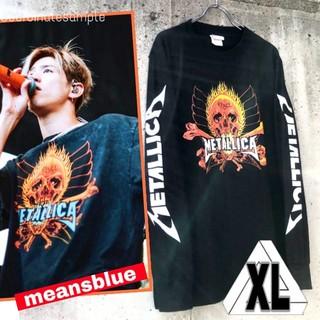 ワンオクロック(ONE OK ROCK)のXL/長袖T METALLICA  反逆者 ロックTシャツ(Tシャツ/カットソー(七分/長袖))