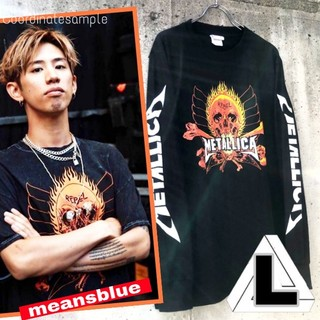 ONE OK ROCK - L◇長袖T METALLICA  反逆者 ロックTシャツ