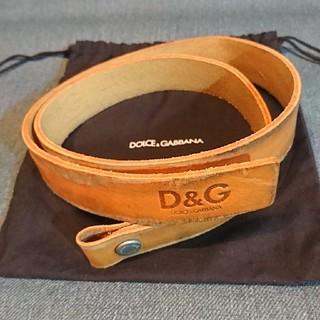 ディーアンドジー(D&G)のD&G ベルト(ベルト)