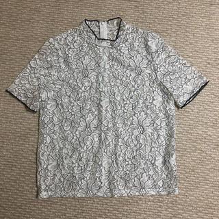 ジーユー(GU)のGUレーストップス(シャツ/ブラウス(半袖/袖なし))
