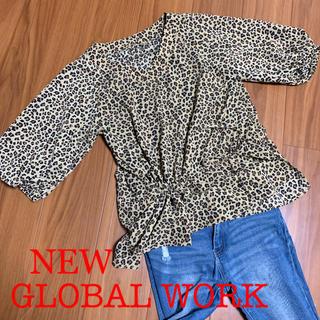 グローバルワーク(GLOBAL WORK)のGLOBAL WORK、レオパード、ヒョウ柄(カットソー(半袖/袖なし))