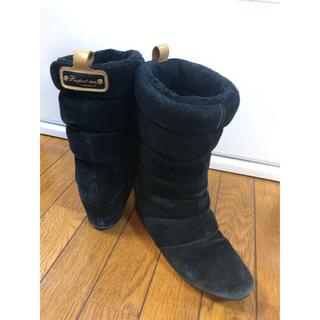 アディダス(adidas)のアディダス  ブラック 24cm  ブーツ(ブーツ)