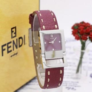 フェンディ(FENDI)の正規品【新品電池】FENDI 5200L/エンジ色 人気モデル ピンク(腕時計)