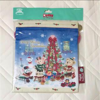 ダッフィー(ダッフィー)のダッフィー クリスマス 巾着(日用品/生活雑貨)