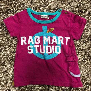 ラグマート(RAG MART)のTシャツ 80cm RAGMART 送料込み(Tシャツ)
