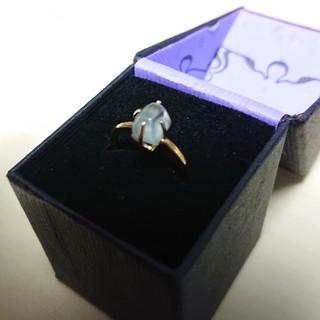 希少!天然石グリーンアメジストの指輪(リング(指輪))