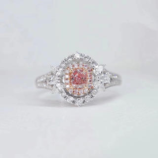 Giaピンクダイヤモンド指輪(リング(指輪))