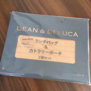 ディーンアンドデルーカ(DEAN & DELUCA)のDEAN&DELUCA ランチバッグ&カトラリーポーチのセット(弁当用品)