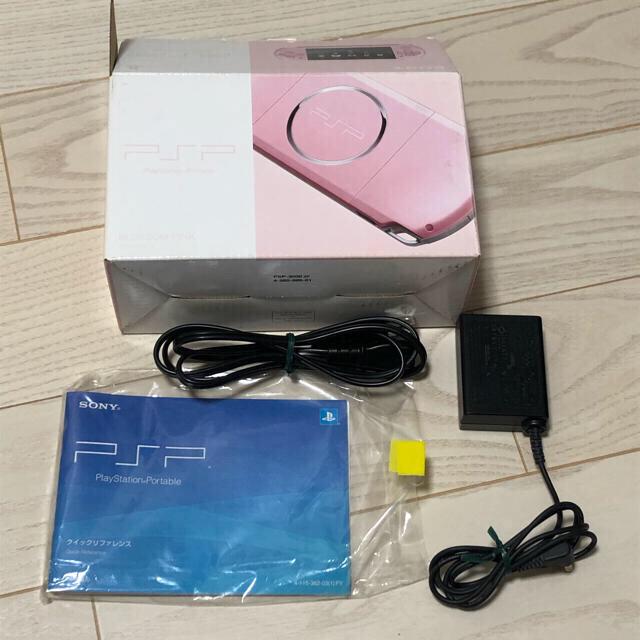 PlayStation Portable(プレイステーションポータブル)のPSP 3000 本体 エンタメ/ホビーのゲームソフト/ゲーム機本体(携帯用ゲーム機本体)の商品写真
