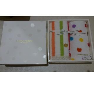 ツモリチサト(TSUMORI CHISATO)のツモリチサト フェイスタオル ゲストタオル(タオル/バス用品)