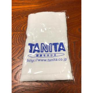 タニタ(TANITA)のタニタロゴ入りタオル(タオル/バス用品)