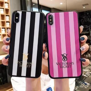 ヴィクトリアズシークレット(Victoria's Secret)のVS ストライプiPhoneケ–ス(iPhoneケース)