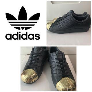 アディダス(adidas)のadidas スーパスター ゴールドメタリックトゥ(スニーカー)