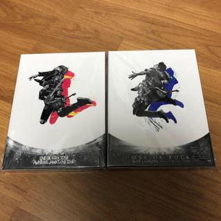 ワンオクロック(ONE OK ROCK)のONE OK ROCK DVD2本セット 新品(ミュージック)