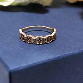 ★K10 ゴールド リーフ リング(リング(指輪))