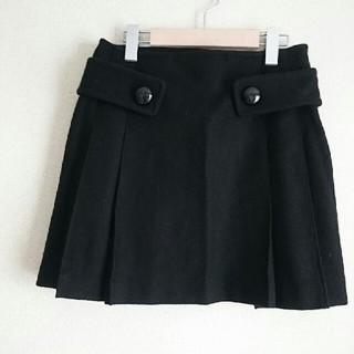 バービー(Barbie)のBarbie アンゴラ混 ウール プリーツスカート(ミニスカート)