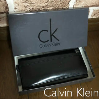Calvin Klein - 『Calvin Klein』メンズ 長財布 箱付き