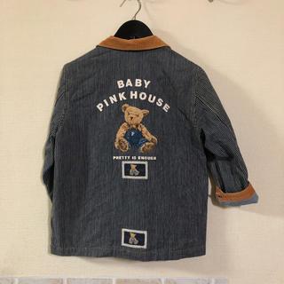 ピンクハウス(PINK HOUSE)のbaby ピンクハウス ジャケット くま(ジャケット/上着)