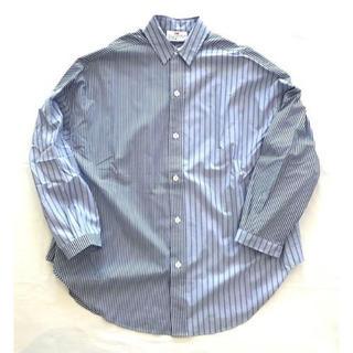 アンユーズド(UNUSED)のVOTE MAKE NEW CLOTHES マーベルストライプシャツ 中川大志(シャツ)