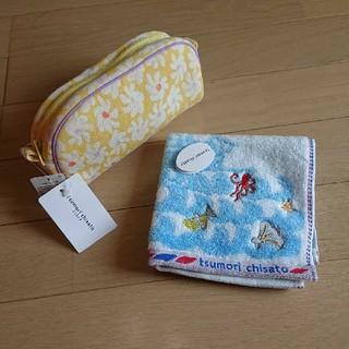 ツモリチサト(TSUMORI CHISATO)のツモリチサト SLEEP ポーチ、タオルハンカチ(ハンカチ)
