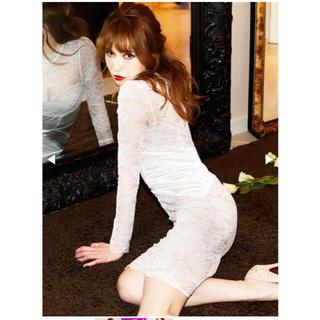 デイジーストア(dazzy store)の藤井リナ着用 総レースドレス(ミディアムドレス)