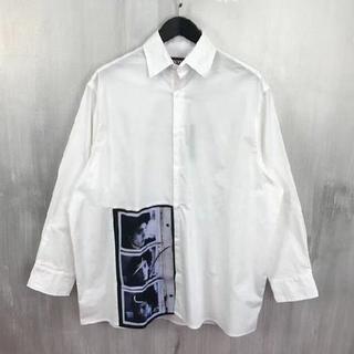 ラフシモンズ(RAF SIMONS)のラフシモンズ RAF SIMONS 17ss オーバーサイズコットンシャツ(シャツ)