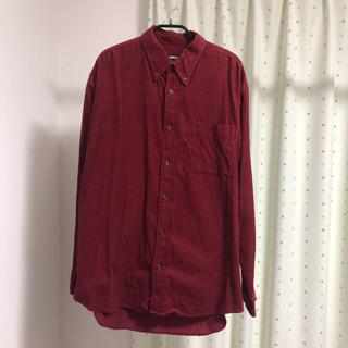 ユニクロ(UNIQLO)のユニクロ コーデュロイシャツ XL(シャツ)