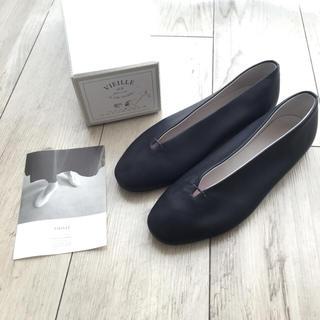 ヤエカ(YAECA)のvieille cinq靴 新品未使用(バレエシューズ)