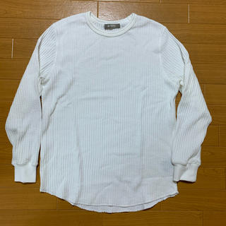 ナノユニバース(nano・universe)のナノユニバース サーマルニット ワッフル 長袖 白(Tシャツ/カットソー(七分/長袖))